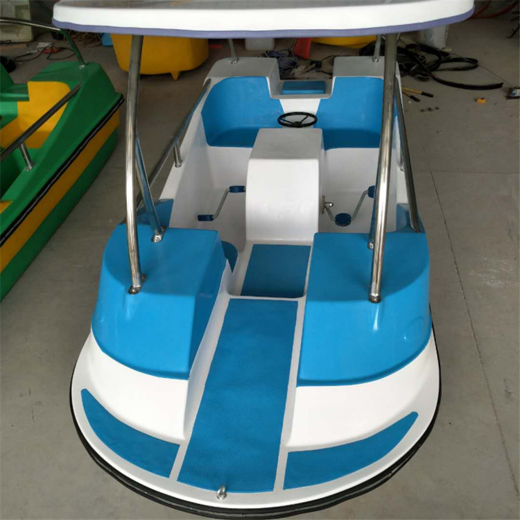 FRP electric leisure boat