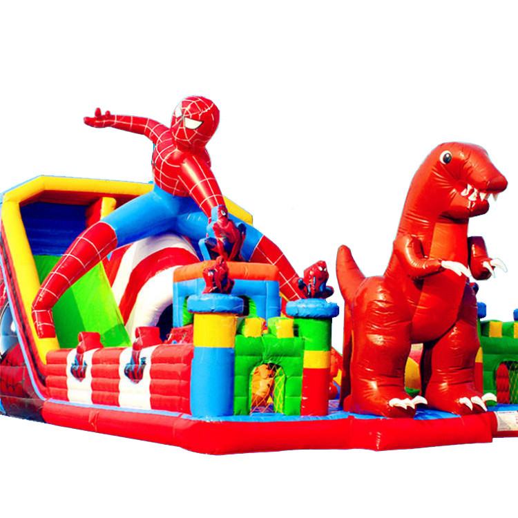 Spider Man Inflatable Castle