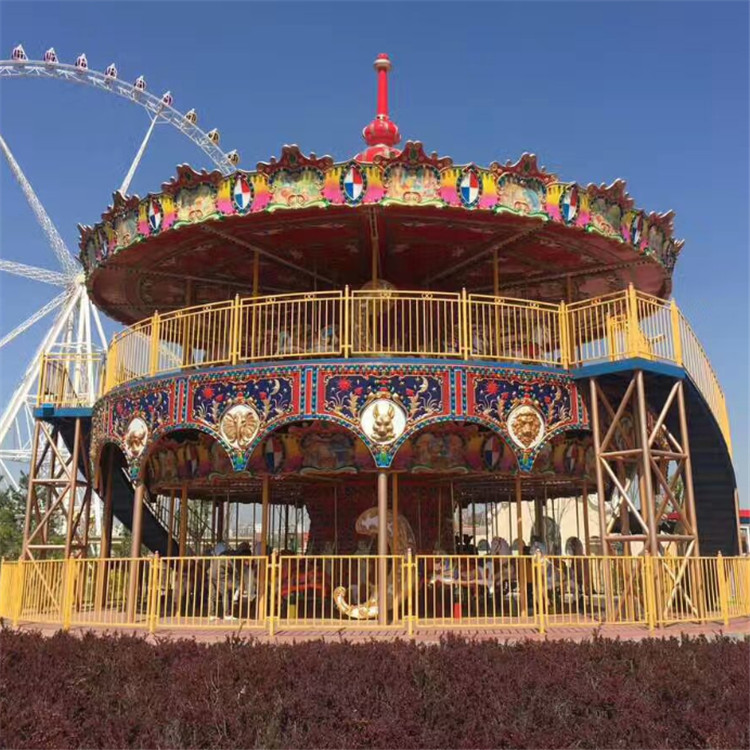 Double-deck carousel